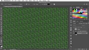 how to apply a matrix number grid effect to images in photoshop