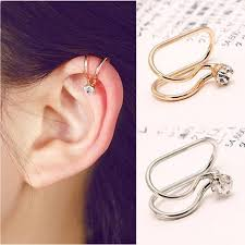 clip on earring 1 u style no ear cuff clip on earring