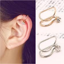 clip on earring 1 u style no ear cuff clip on earring