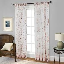 Curtains 95 Inches Length Buy Curtain Panels Sheer From Bed Bath U0026 Beyond