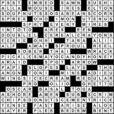aug 17 23 2017 crossword puzzle answers utter buzz