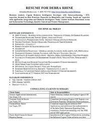 sample resume for senior business analyst sample resume for business analyst u2013 foodcity me