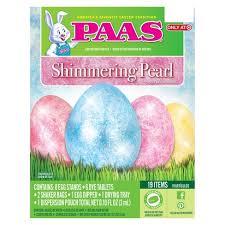 easter egg decorating kits easter paas shimmering pearl egg decorating kit target