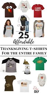 thanksgiving tshirt 25 festive shirts for thanksgiving of diy
