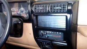jeep wrangler custom dashboard gloss black on jeep tj dash bezel youtube