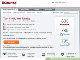 3 bureau credit report free 3 ways to check someone s credit scores wikihow