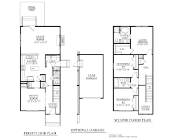 narrow house plans with garage 2 story house plans with 3 car garage luxihome