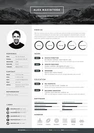 best resume template 3 mono resume template by www ikono me 3 page templates 90 icons