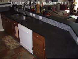 Kitchen Countertop Prices Granite Countertop Cast Iron Skillet In Oven Wall Mount Rack