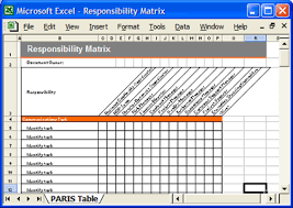 Excel Templates Free Responsibility Matrix Software Development Templates