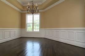 dining rooms with wainscoting one story home with bonus room u2013 holly springs new homes u2013 stanton
