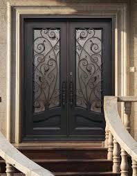 Exterior Doors Steel Steel Front Doors Steel Entry Door With Two Sidelights Hfer
