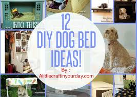 How To Make A Dog Bed 12 Diy Dog Bed Ideas Youtube