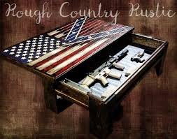 American Battle Flag Deluxe Home Defense Coffee Table Charred American Flag With Torn