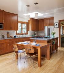 redoing kitchen cabinets with flushed fridge kitchen craftsman and