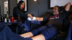 need a manly pedi welcome to la u0027s first nail salon just for men