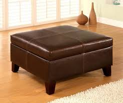 Oversized Ottoman Coffee Table Coffee Table Coffee Table Grey Square Modern Leather Large Ottoman