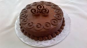 This Is A Chocolate Cake With Chocolate Butter Cream Icing And
