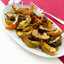 roasted acorn squash with cider vinaigrette recipe