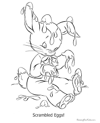 cute easter coloring sheet 006