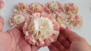 Chic Flower Luscious Shabby Chic Flowers Very Soft Fluffy And Dimensional