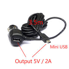 Car Phone Charger With Usb Port Dc 8 36v To 5v 2a Dual Usb Car Charger Adapter Cigarette Lighter