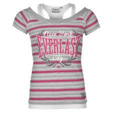 u20ac15 62 womens clothing t shirts everlast mock layer t shirt