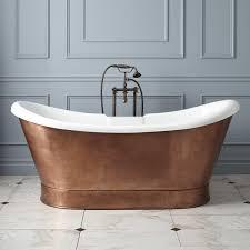 copper stand alone bathtub u2022 bath tub