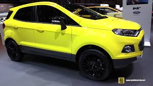 2016 ford ecosport titanium s exterior and interior walkaround