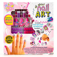 amazon com just my style all about nail art by horizon group usa