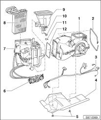 skoda workshop manuals u003e octavia mk1 u003e heating air conditioning