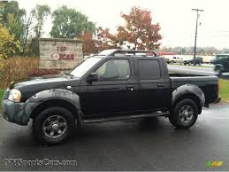 lifted nissan frontier 2001 nissan frontier xe v6 crew cab in super black 385685