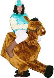 Horse Jockey Halloween Costume Jockey Horse Ref Z08 Novelty U0026 Mascot Hire Escapade Uk