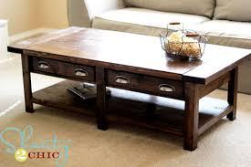 free coffee table plans 101 simple free diy coffee table plans