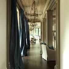 Blue Silk Curtains Creative Silk Curtains For Living Room Striped Silk Taffeta Wide