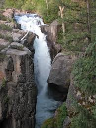 Wyoming waterfalls images Shell falls jpg
