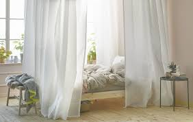 Vivan Curtains Ikea by Canopy Bed Curtains Wtih Vidga
