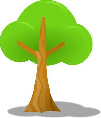 clipart simple tree