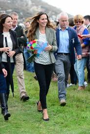 kate middleton returns to royal duties shows off slim post baby