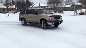 Ford Explorer Awd - 2000 ford explorer awd playing in snow youtube