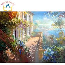 aliexpress com buy home beauty oil paint painting by numbers diy