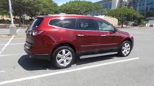 fiat jeep 2016 pre owned 2016 chevrolet traverse ltz sport utility in honolulu