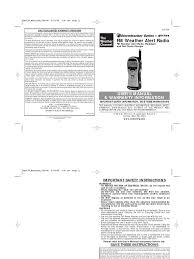 vector 438 storm tracker radio manual electromagnetic