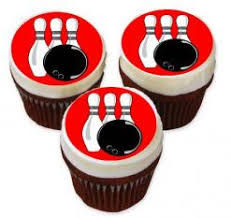 bowling cake toppers edible images photo cakes cake stickers edible cake sticker prints
