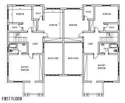 duplex house plans floor plan 2 bed 2 bath duplex house inspiration 2 semi duplex house plans 4 bedroom homepeek