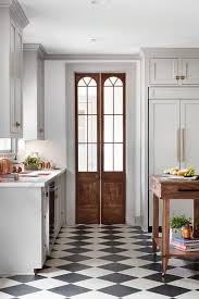 white kitchen cabinets black tile floor should we do black white checkerboard floors in our