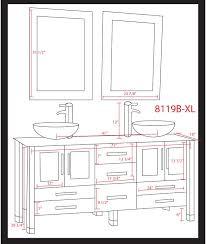 standard vanity depth undermount bathroom sink depth ideas