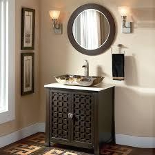 abel 48 inch rustic single sink bathroom vanity marble top cabinet