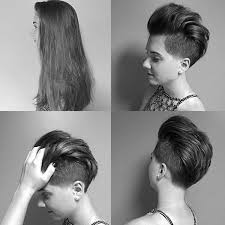 short hair with length at the nape of the neck long to short hair makeovers hair hairstyles news