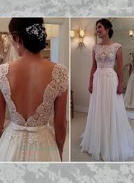 lace top wedding dress wedding dress lace top chiffon bottom naf dresses